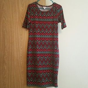 Graphic print LulaRoe dress
